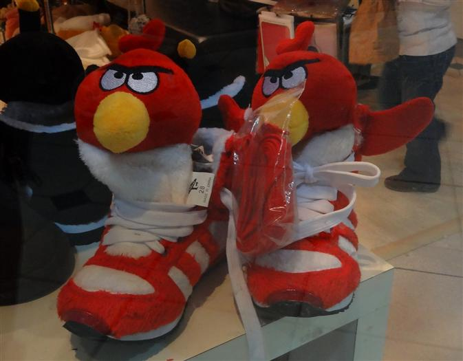 Angry Bird Running Shoes
