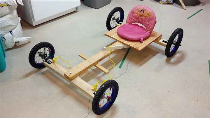 DIY Classic Go Kart Version 1.0