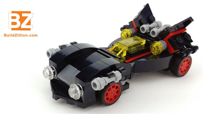 Images of the LEGO The Mini Ultimate Batmobile