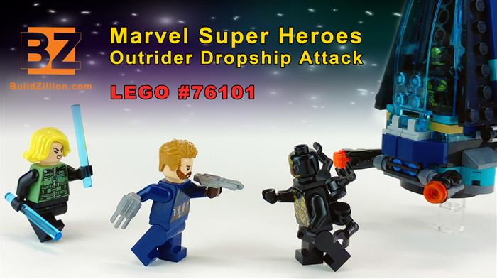 LEGO Marvel Super Heroes - Outrider Dropship Attack - 76101 - Image 2 title screen