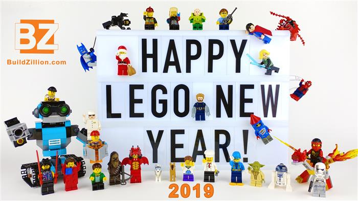 BuildZillion - Happy LEGO New Year 2019