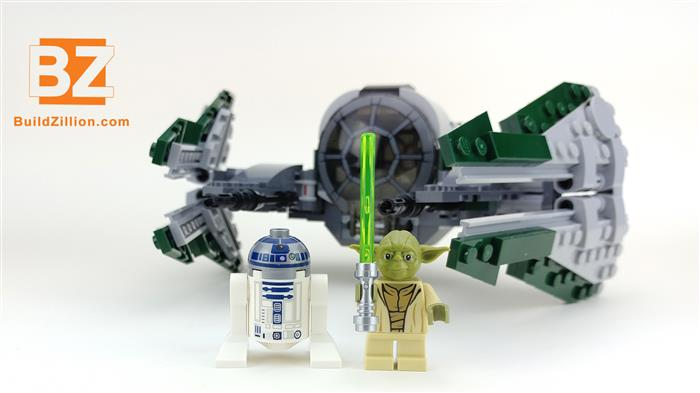 YODA and R2-D2 posing and smiling