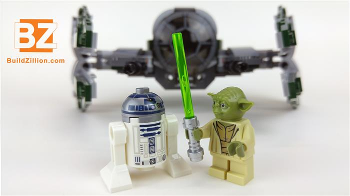 YODA and R2-D2 chit chatting